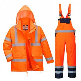 Зимний костюм Portwest S468 + S489 сигнальный оранжевый