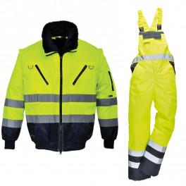 Зимний костюм Portwest PJ50 + S489 желтый