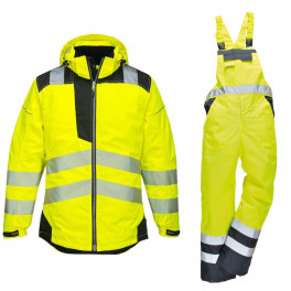 Зимний костюм Portwest T400 + S489 желтый