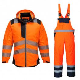 Зимний костюм Portwest T400 + S489 сигнальный оранжевый