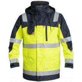 Куртка-парка Engel Safety 1000-928, желтый/темно-синий