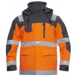 Куртка-парка Engel Safety 1000-928, сигнальный оранжевый/серый
