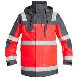 Куртка-парка Engel Safety 1000-928, сигнальный красный/серый