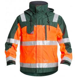 Куртка Engel Safety 1001-928, сигнальный оранжевый/зеленый