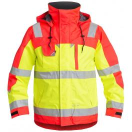 Куртка Engel Safety 1001-928, сигнальный желтый/сигнальный красный