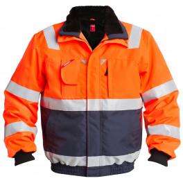 Куртка Engel Safety 1172-928, сигнальный оранжевый/темно-синий
