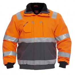 Куртка Engel Safety 1172-928, сигнальный оранжевый/серый