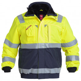 Куртка Engel Safety 1172-928, сигнальный желтый/синий