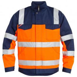 Куртка Engel Safety 1501-770, оранжевый/синий