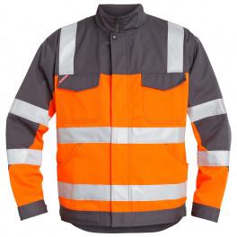 Куртка Engel Safety 1501-770, оранжевый/серый