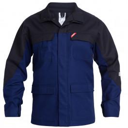 Антистатическая огнеупорная куртка Engel Safety + 1234-820, синий/черный