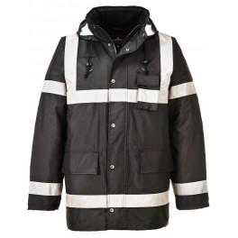 Водостойкая утепленная куртка Portwest S433. черный