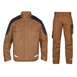 Летний костюм Engel 1290-880 + 2290-880, хаки/серый