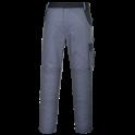 Рабочие брюки Portwest TX36, Серый/черный