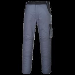 Рабочие брюки Portwest (Англия) KS11, Серо-чёрный