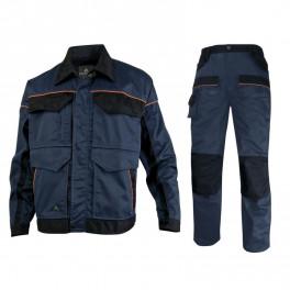 Летний костюм Delta Plus MCVes+MCPan, темно-синий/черный