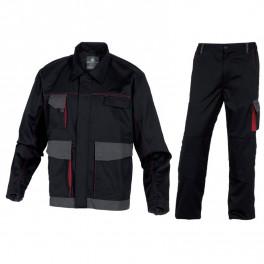 Летний костюм Delta Plus DMVes+DMPan, черный/серый