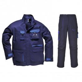 Летний костюм Portwest TX10+TX11, темно-синий/синий