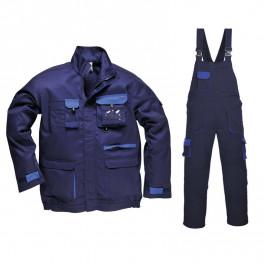 Летний костюм Portwest TX10+TX12, темно-синий/синий