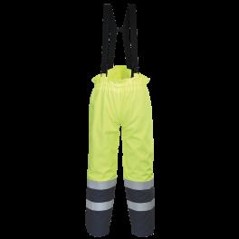 Антистатическая огнеупорная куртка Portwest FR79. Цвет сине-жёлтый.