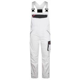 Летний рабочий полукомбинезон Engel 3290-880, Белый/серый