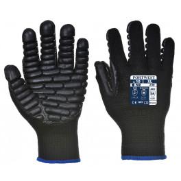 Антивибрационные рабочие перчатки Portwest A790, черный