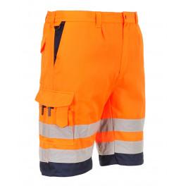 Светоотражающие шорты Portwest E043 (Англия). Оранжевый