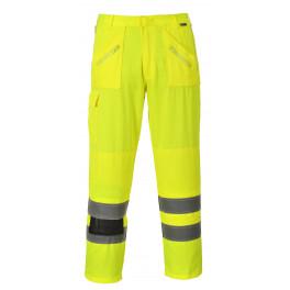 Светоотражающие брюки Portwest E061 (Англия), сигнальный желтый