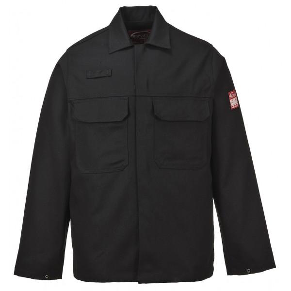Куртка сварщика Portwest BIZ2 (Англия), Чёрный