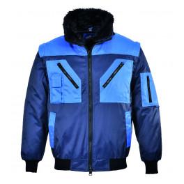 Демисезонная куртка Portwest PJ20 синий/светло-синий