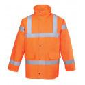 Зимняя светоотражающая куртка Portwest  S460, сигнальный оранжевый