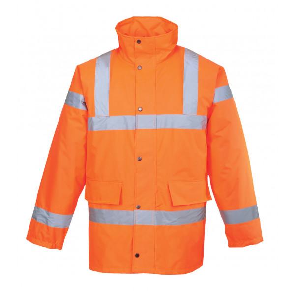 Зимняя светоотражающая куртка Portwest  S460, оранжевый