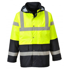 Зимняя светоотражающая куртка Portwest  S466, желтый/черный