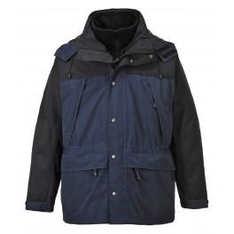 Утепленная дышащая куртка Portwest S532 3 в 1, синий/черный