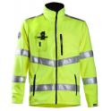 Сигнальная флисовая куртка Dimex 4063+, сигнальный желтый