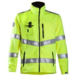 Сигнальная флисовая куртка Dimex 4063+