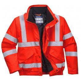 Куртка-бомбер Portwest S463, сигнальный красный