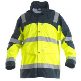 Сигнальный дождевик Engel Rain Jacket 1911-102, Желтый/темно-синий