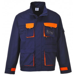 Рабочая куртка Portwest (Англия) TX10, Темно-синий / Оранжевый