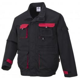 Рабочая куртка Portwest (Англия) TX10, Чёрный / красный