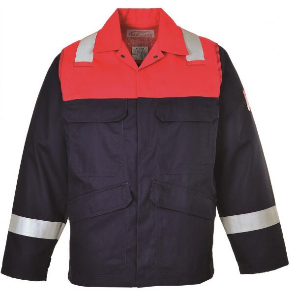 Антистатическая огнеупорная куртка Portwest FR55, Синий/красный
