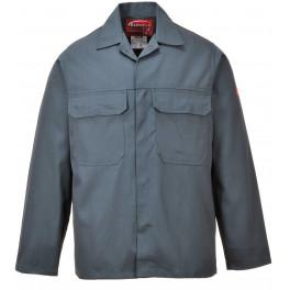 Куртка сварщика Portwest BIZ2 (Англия), Бутылочно-зелёный