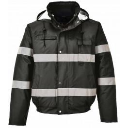 Легкая куртка-бомбер Portwest S434, черный