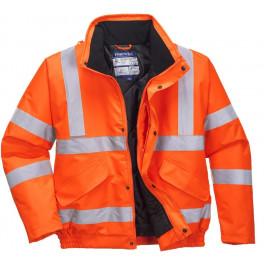 Куртка-бомбер Portwest S463, сигнальный оранжевый