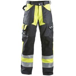 Рабочие брюки Dimex 698, сигнальный желтый/серый/черный