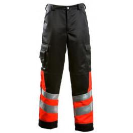 Сигнальные брюки Dimex 6220, сигнальный оранжевый/черный