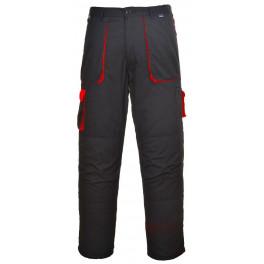 Рабочие брюки Portwest (Англия) TX11, Чёрный / красный