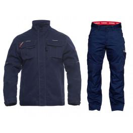 Летний костюм Engel 1760-630 + 2760-630, темно-синий