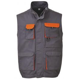 Рабочий жилет Portwest (Англия) TX19, Серый / Оранжевый
