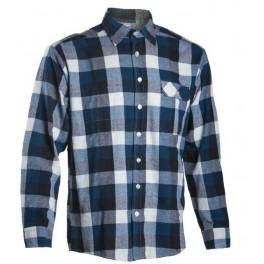 Фланелевая Рубашка Dimex 4247+, синий/черный/белый